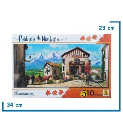 Rompecabeza Puzzle x510 Poblado de Montaña