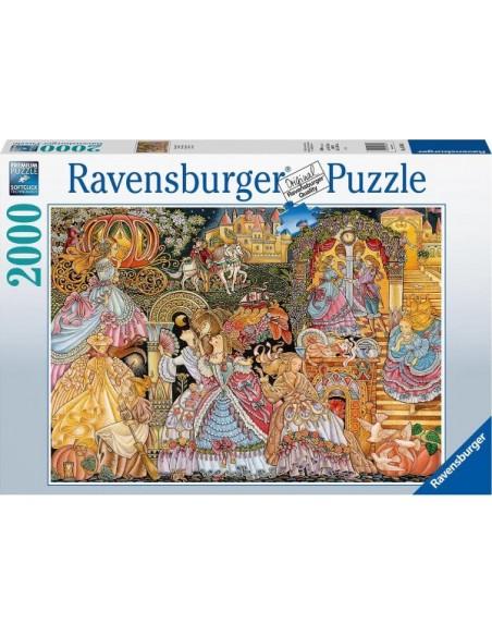 Rompecabezas Puzzle Ravensburger 2000 Piezas Cenicienta