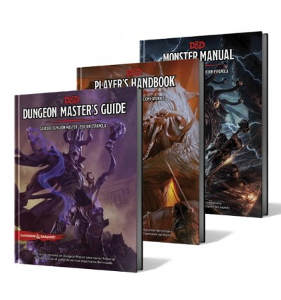 Combo Dungeons and Dragons 5ta edición