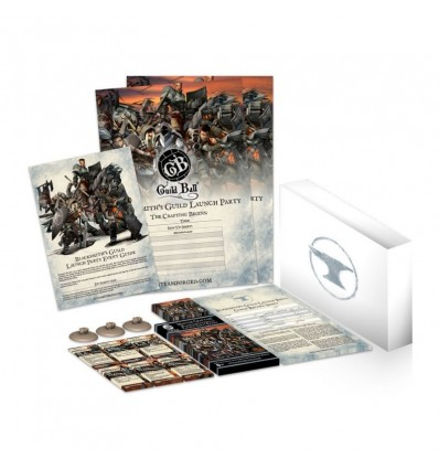 Guild Ball: Launch Pack The Blacksmith's Guild - Master Crafted Arsenal (Inglés)