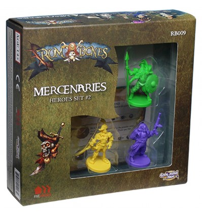 Mercenary Heroes Set 2