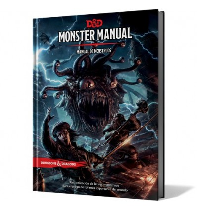 Dungeons & Dragons 5ed - Manual de Monstruos (D&D)