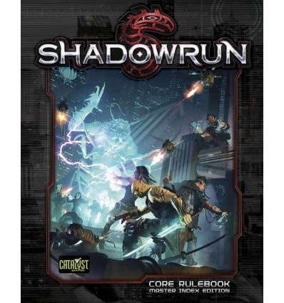 Shadowrun 5th Ed: Core Book (Hardcover)