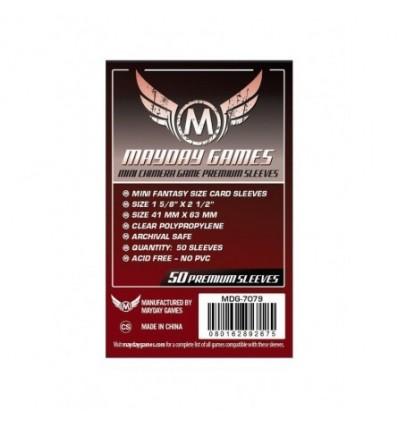 Protectores Mini Chimera Premiun Mayday Games (43x65) x50