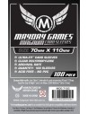 """Protectores Magnum Ultra-Fit """"Lost Cities"""" Mayday Games (70x110) x100"""