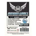 Protectores Magic The Gathering Blanco Premiun Mayday Games (66x91) x80