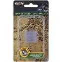 WizKids Deep Cuts - Clear 25mm Round Base - 15 ct.