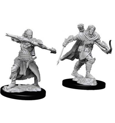 Pathfinder Battles™ Deep Cuts™ - Male Half-Elf Ranger