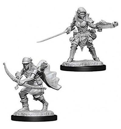 Pathfinder Battles™ Deep Cuts™ - Female Half-Elf Ranger