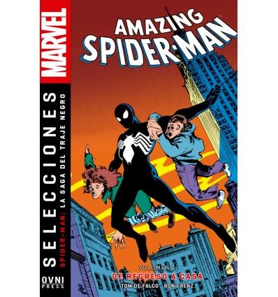 Amazing Spiderman Saga Del Traje Negro Vol. 01: De Regreso