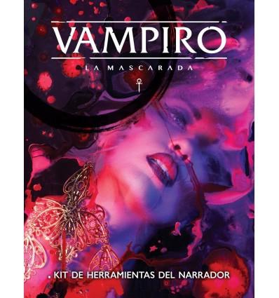 Pantalla del Narrador. Vampiro: La Mascarada 5ª Edición