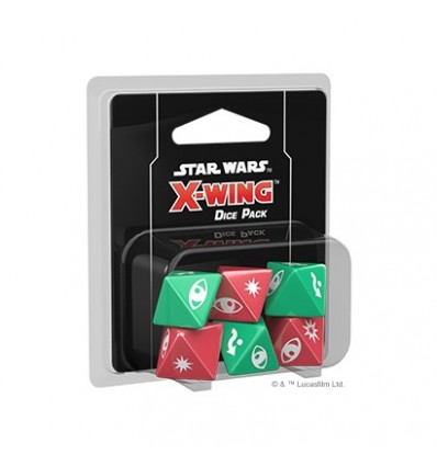 Star Wars X-Wing 2E Dice Pack