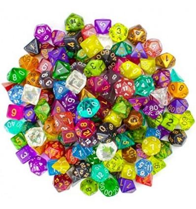 100+ Pack of Random Polyhedral Dice, Series II