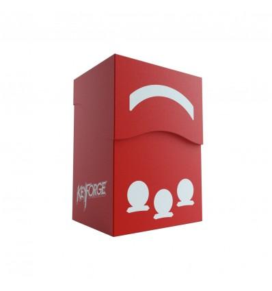 GameGenic Deck KeyForge Gemini Box: Red