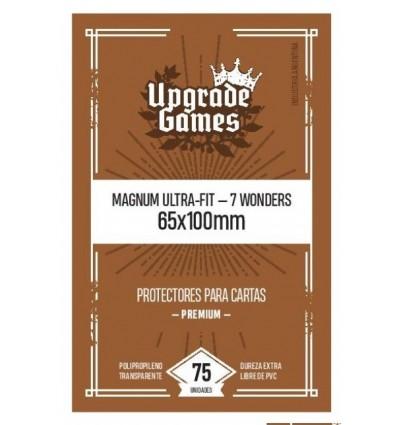 Protectores de cartas Magnum Ultra-Fit 65x100mm (75u) Sleeves Upgrade Games