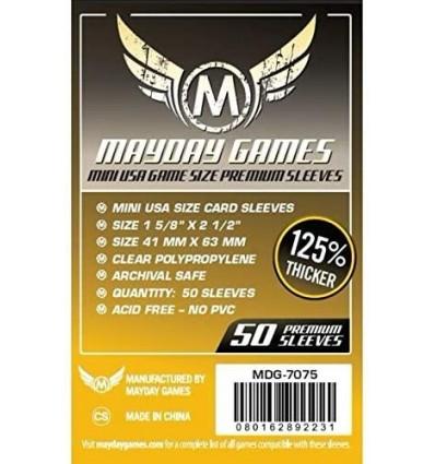 Protectores Mayday Mini Americano Premiun (41x63) x50