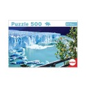 Puzzle Glaciar Perito Moreno 500 Piezas