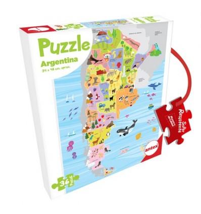 Puzzle Argentina 36 Piezas