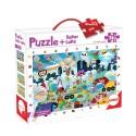 Puzzle + Super Lupa Monstruos 36 Piezas