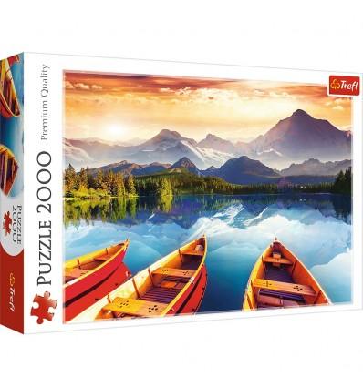 Puzzle Trefl 2000 Piezas Lago Cristal
