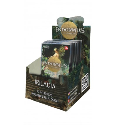 Indommus Reyes Destronados:Caja Iriladia (20 boosters)