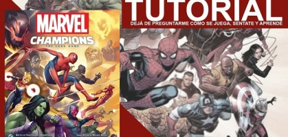 Tutorial - Marvel Champions por Board Game House Argentina